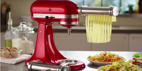 KitchenAid 3-Piece Pasta Roller & Cutter Attachment Set Only $99.99 at Woot.com