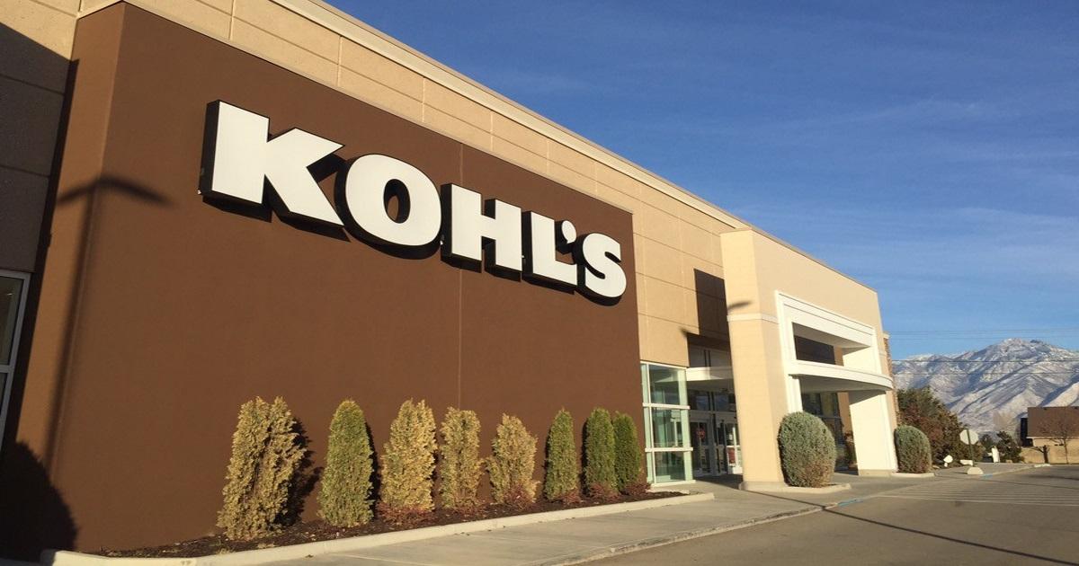 jcpenney & kohls are hiring teens for Christmas - Kohls storefront