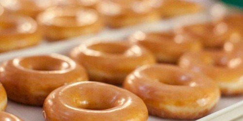 Krispy Kreme DOUBLE Dozen Doughnuts Just $12 (Rewards Members Only) – April 26-28
