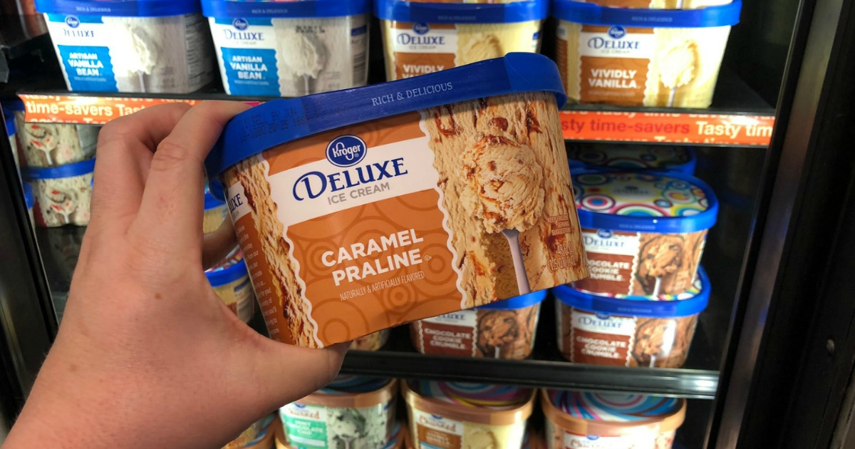Stores, restaurants, hotels, and other places that offer senior discounts – Kroger deluce ice cream