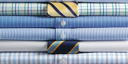 Lands' End Men's No Iron Supima Dress Shirts Just $15.97 (Regularly $39+)