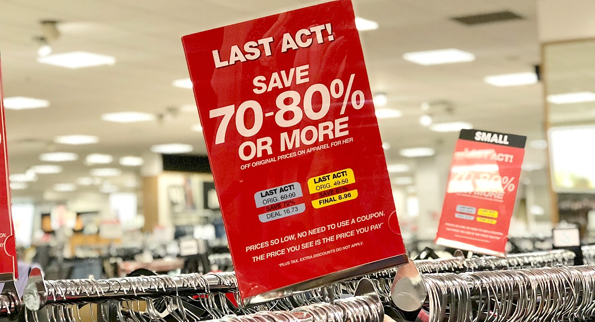 macy's shopping tips to save you money — last act clearance section