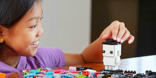 LEGO BrickHeadz Go Brick Me Building Kit Only $21.97