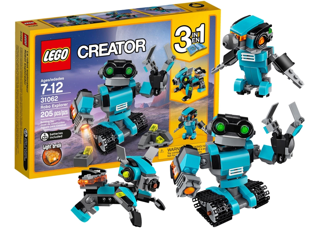 Lego Creator Robo Explorer Robot Just 1399 Regularly 20 A