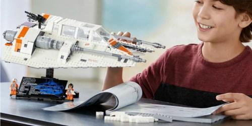 LEGO Star Wars 20th Anniversary Edition Snowspeeder Just $21.99 (Regularly $40)