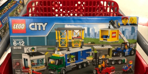 LEGO Town Cargo Terminal Only $40.99 Shipped After Target Gift Card (Regularly $80)