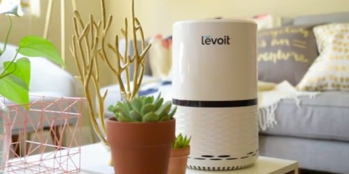 Amazon Prime: LEVOIT Air Purifier w/ True Hepa Filter Only $58.49 Shipped (Regularly $90)