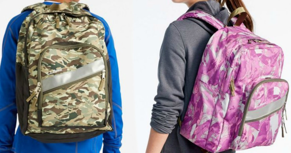 fbefe099cec1 Hop on over to L.L.Bean.com where you can snag Deluxe Backpacks for as low  as  14.99 (regularly  39.95).