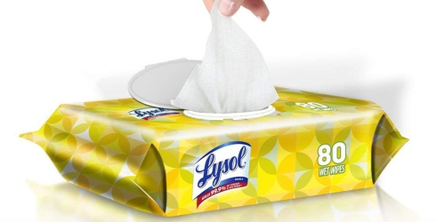 Amazon: Lysol Handi-Pack Wipes 320 Count Just $10.07