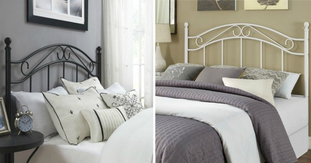 Mainstays Full Queen Metal Headboard Only 40 Shipped