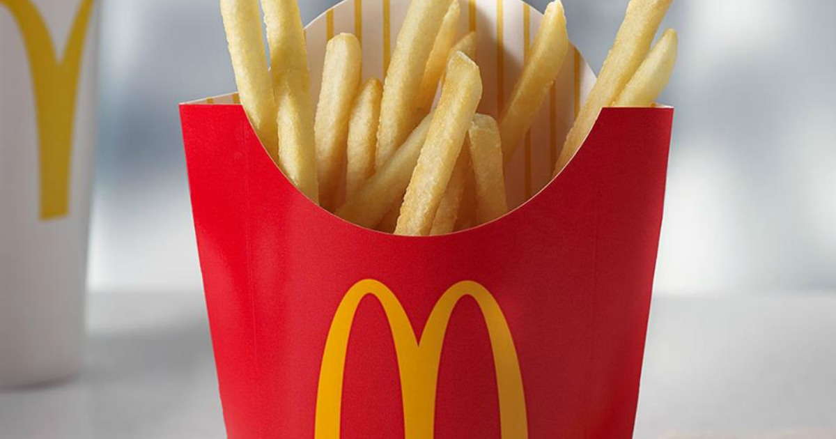 FREE McDonald's Medium Fries w/ Any $1 Purchase for Apple ...