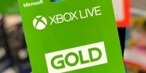 Xbox Live Gold Pass 1-Month Subscription Only $1 (New Subscribers)