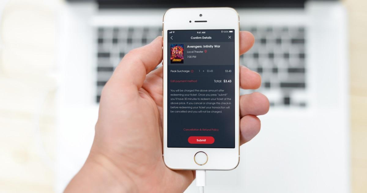 moviepass introduces surge peak pricing – moviepass app pricing
