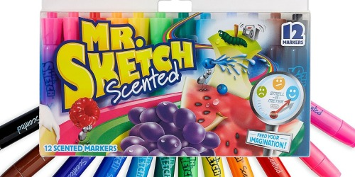 Mr. Sketch Scented Markers 12-Pack Only $4.95 Shipped