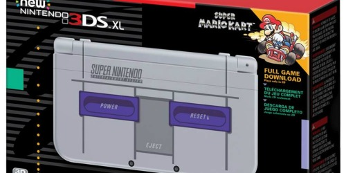 Amazon: Nintendo New 3DS XL Super NES Edition Only $149.99 Shipped (Regularly $200)