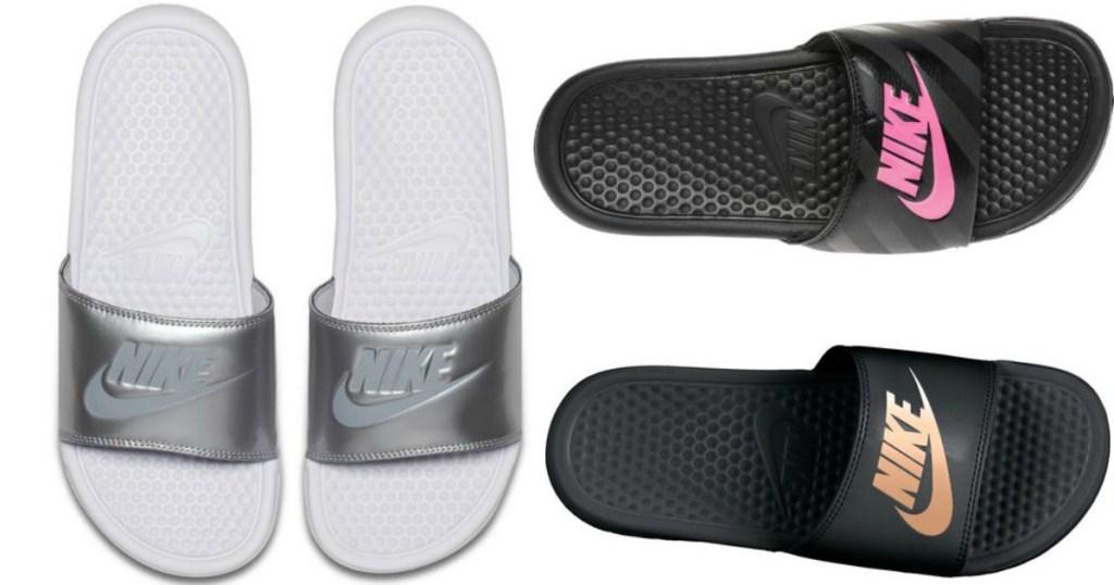 834acdb0ddb3 Men s   Women s Slide Sandals Only  14.99 (Nike
