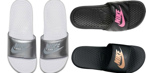 Men's & Women's Slide Sandals Only $14.99 (Nike, Adidas, Under Armour & More)