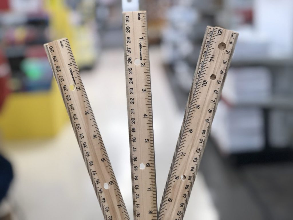 Office Depot ruler