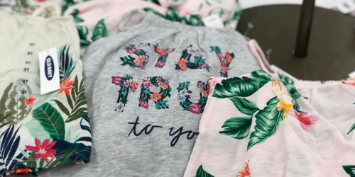 75% Off Old Navy Clearance Event + EXTRA 25% Off Already Low Prices