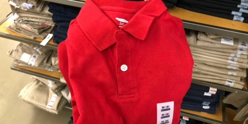 50% Off Old Navy Kids School Uniforms (In-Store & Online)