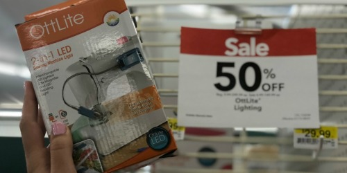 50% Off OttLite Lighting at JoAnn (In-Store and Online)