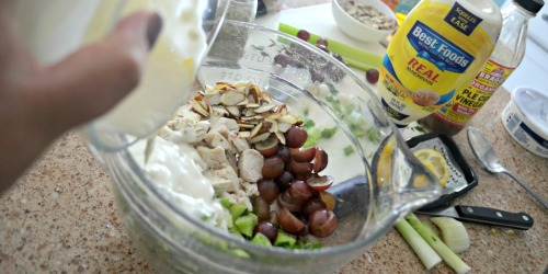 Napa Almond Chicken Salad (Panera Copycat Recipe)