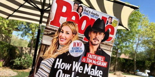 One-Year People Magazine Subscription Only $33.99 Shipped (Just 63¢ Per Issue)
