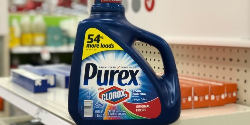 Purex Liquid Laundry Detergent 1-Gallon Bottle Only $5 Shipped on Amazon
