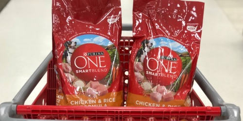 Score FREE Purina One Cat or Dog Food Coupon