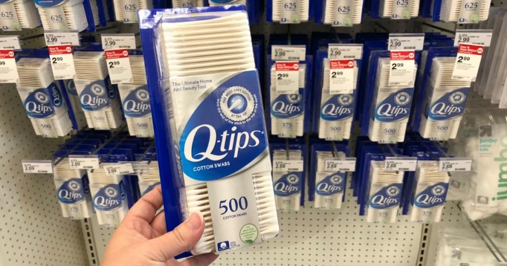Q-Tips 500 ct at Target