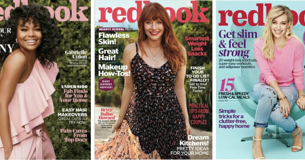 e972e3148f85 Hop on over to Mercury Magazines where they are offering up a FREE 1-Year  Redbook Magazine Subscription!