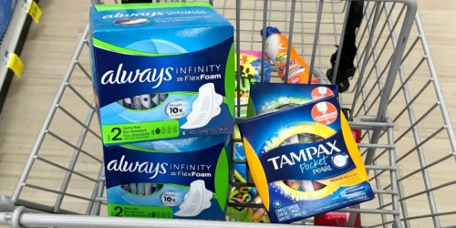 Always & Tampax 63¢, Cheap Pampers Easy Ups & More at Rite Aid (Starting 7/15)