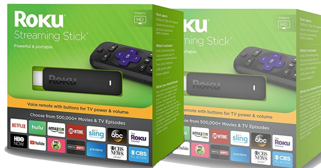 Roku Streaming Stick Only $34 99 Shipped (Regularly $49 99)