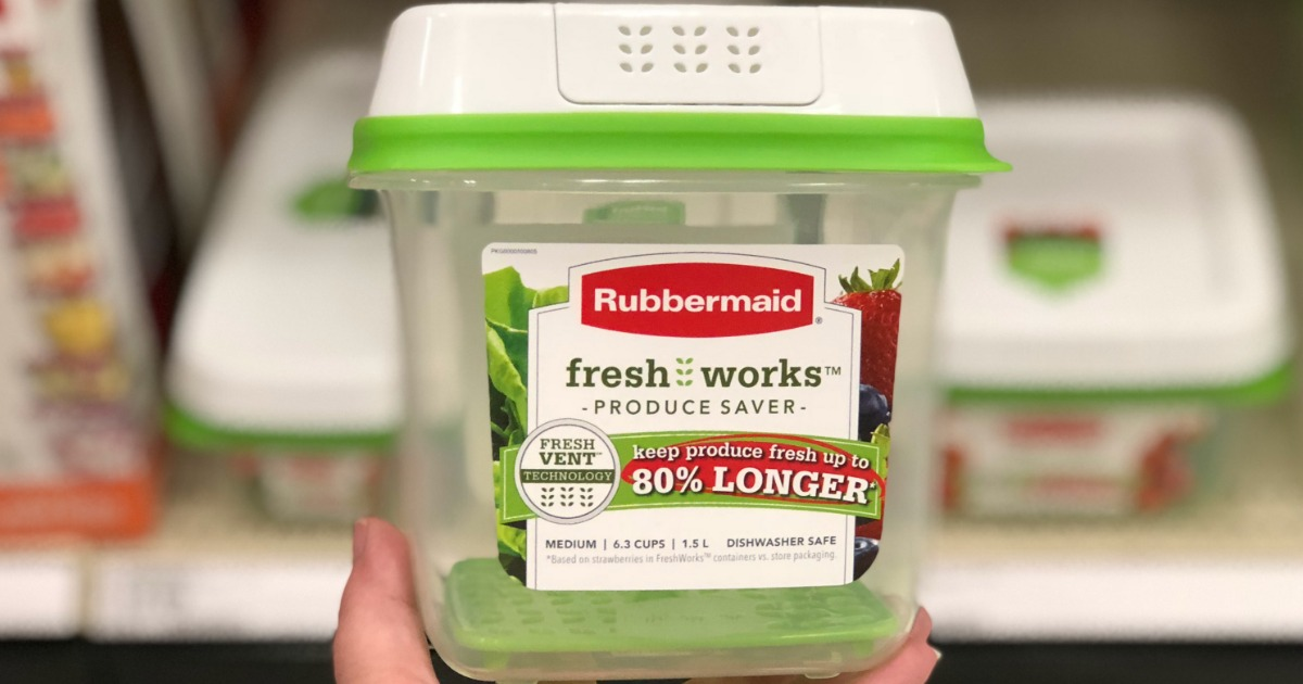 Get ready for college with this back to school moving checklist – Rubbermaid food storage container