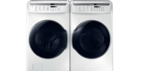 Sears: Samsung FlexWash Washer or Dryer Only $799.99 (Regularly $1,600)