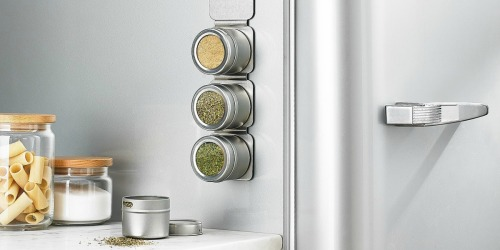 Martha Stewart 6-Piece Magnetic Spice Rack w/ Spices Just $12.99 (Regularly $34)