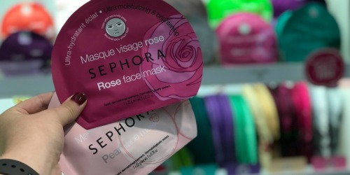 Free Sephora Collection Face Mask – No Purchase Necessary (July 27th-29th Only)