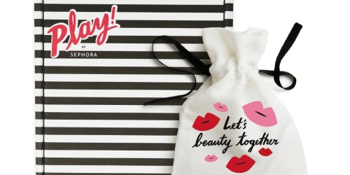 Sephora PLAY! Beauty Boxes Only $10 (Up to $50 Value)