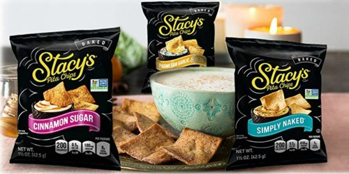 Stacy's Pita Chips 24-Count as Low as $9 Shipped at Amazon | Only 39¢ Per Bag