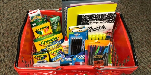 Staples School Supply Deals Starting 7/28 (+ $5 Off $25 Purchase)