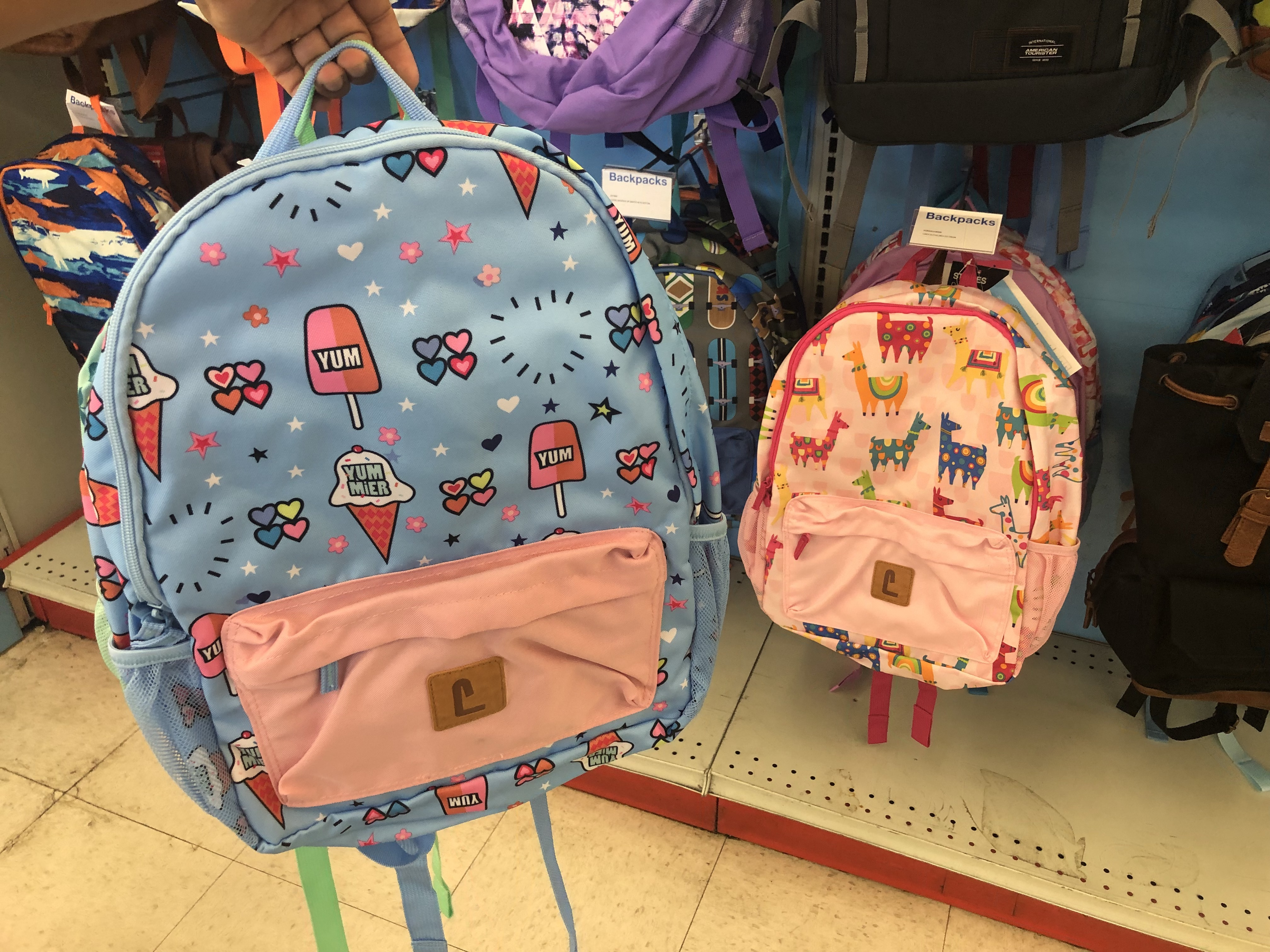 back to school deals at staples, target, and walmart - staples backpacks