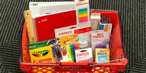 Staples Rewards Members: Possible $30 Off $60 Purchase Coupon (Check Your Inbox)