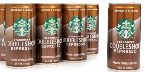Amazon: Starbucks Doubleshot Espresso 12-Pack Only $10.12 Shipped (Just 84¢ Each)