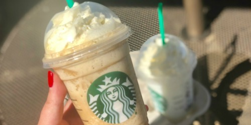 Buy One Get One Free Starbucks Frappuccino Beverage or Handcrafted Espresso (8/23 Only)