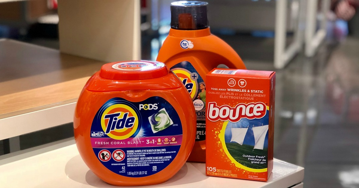 Tide, Tide Pods, and Bounce
