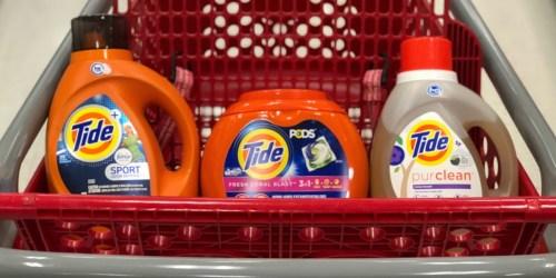 Over 50% Off Tide Detergent or Pods After Target Gift Card + More