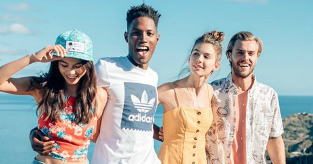 summer clothing clearance at tilly's people on beach