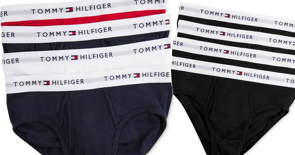 Amazon Prime: Tommy Hilfiger Cotton Briefs 4 Pack As Low As