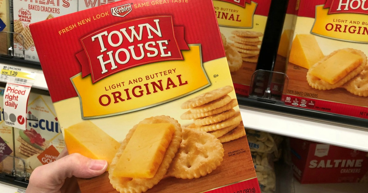 New Coupons for Keebler Townhouse Crackers & More