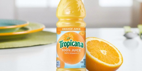 Tropicana Orange Juice 15.2-Ounce Bottles 12-Pack Only $12.33 Shipped on Amazon